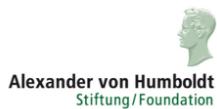 Logo  - Alexander von Humboldt-Stiftung