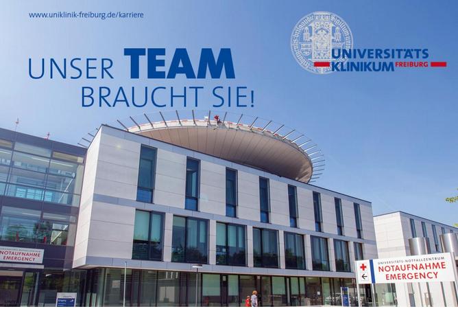 Wissenschaftliche*n Mitarbeiter*in  - Uniklinik Freiburg - Logo