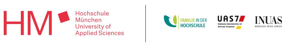 Hochschule für angewandte Wissenschaften München - Logo