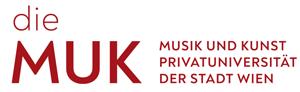 Professur für die Fachbereiche Instrumental- und Gesangspädagogik - MUK - Logo