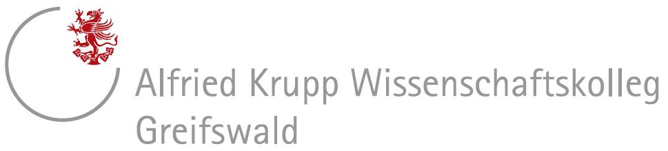 Senior-Fellowships und Junior-Fellowships - Stiftung Alfried Krupp Kolleg Greifswald - logo