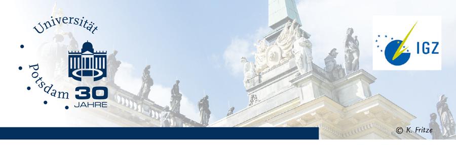 Professorship (W1) for Clinical Psychology (Tenure Track) - Uni Potsdam - Logo