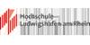 Kanzler (m/w/d) - Hochschule für Wirtschaft und Gesellschaft Ludwigshafen - Logo