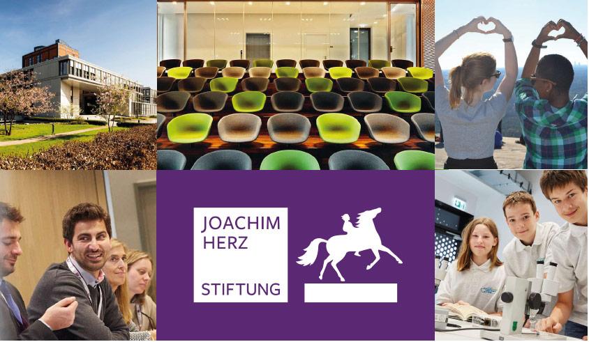 Projektmanager (m/w/d) - Joachim Herz Stiftung - Header