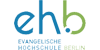 Wissenschaftlicher Mitarbeiter (m/w/d) mit dem Schwerpunkt Forschung im Bereich Soziales, Gesundheit und Bildung - Evangelische Hochschule Berlin - Logo