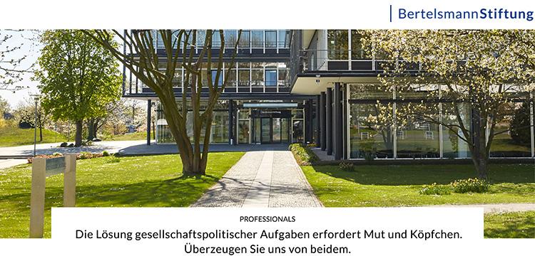 logo  - Bertelsmann Stiftung