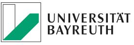 Full Professorship (W3) of Entrepreneurial Behavior - Universität Bayreuth - Logo