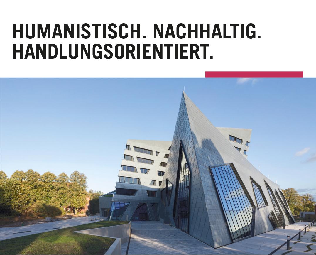 Full Professorship (W2/W3) Practical Philosophy - Leuphana Universität Lüneburg - Header