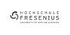 Professur im Fachgebiet Immobilienwirtschaft - Hochschule Fresenius - Logo