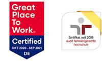 W2-Professur (m/w/d) - HNU - Zertifikat