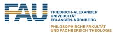 Heisenberg-Professur (W2) für Islamisch-Religiöse Studien mit Schwerpunkt Reformdiskurse im gegenwärtigen Islam (Tenure Track) - Friedrich-Alexander Universität Erlangen-Nürnberg (FAU) - Logo