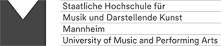 Akademischer Mitarbeiter (m/w/d) - Staatliche Hochschule für Musik und Darstellende Kunst Mannheim - Bild