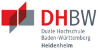 """Akademischer Mitarbeiter (m/w/d) Studiengang """"Marketing Management / Medien und Kommunikation"""" - Duale Hochschule Baden-Württemberg Heidenheim - Logo"""