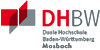 Akademischer Mitarbeiter (m/w/d) im Studiengang Mechatronik - Duale Hochschule Baden-Württemberg (DHBW) Mosbach - Logo