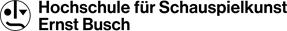 logo  - Hochschule für Schauspielkunst Ernst Busch Berlin