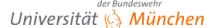 Universitätsprofessur (W3) für Mathematik - Universität der Bundeswehr München - Logo