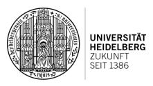 Leitung des Dezernats Internationale Beziehungen (m/w/d) - Universität Heidelberg - Logo