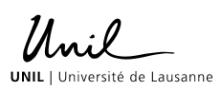 Professur für Germanische Linguistik - Université de Lausanne - Logo
