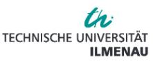 Professur (W3) Digitale Werkstoffwissenschaft - Technische Universität Ilmenau - Logo