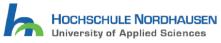 Wissenschaftlicher Mitarbeiter (m/w/d) mit überwiegend Lehraufgaben im Bereich der Öffentlichen Betriebswirtschaft - Hochschule Nordhausen - Logo