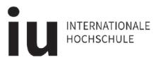 Professur Kommunikationsdesign - IU Internationale Hochschule GmbH - Logo