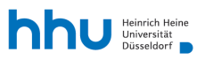 Professur (W1) für Klinische Pharmazie - Heinrich-Heine-Universität Düsseldorf - Logo