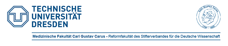 Professur (W2) für Data Science und Versorgungsforschung in der Anästhesiologie und Intensivmedizin - Medizinische Fakultät Carl Gustav Carus der Technischen Universität Dresden - Logo