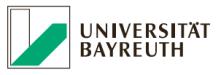 Juniorprofessur (W1) Metallische Werkstoffe II (mit Tenure Track auf W3) - Universität Bayreuth - Logo