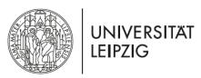 Juniorprofessur (W1 mit Tenure Track auf W2) für Theoretische Chemie des Materialdesigns - Universität Leipzig - Logo