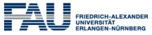 Professur (W2) für Elektrische Wasserstoffsysteme - Friedrich-Alexander Universität Erlangen-Nürnberg (FAU) - Logo