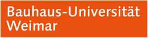 Professorship (W3) Innovation Management and Media Research - Bauhaus-Universität Weimar Universitätskommunikation - Uni Weimar - logo