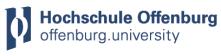 Professur (W2) für Beschaffungs-, Material- und Produktionswirtschaft, insbesondere Operations and Supply Chain Management - Hochschule Offenburg - Logo