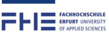 Professur (W2) für Baumechanik und Massivbau - Fachhochschule Erfurt - Logo