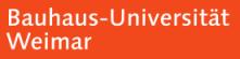 Professur (W3) Innovationsmanagement / Medien - Bauhaus-Universität Weimar - Logo