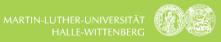 Promotionsstelle als wissenschaftlicher Mitarbeiter (m/w/d) - Martin-Luther-Universität Halle-Wittenberg - Logo