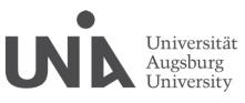 Universitätsprofessur (W3) für Stochastik und ihre Anwendungen - Universität Augsburg - Logo