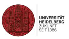 Projektmanager (m/w/d) Naturwissenschaften - Universität Heidelberg - Logo