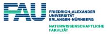 Professur (W1) für Physikalische Chemie an Grenzflächen (Tenure Track) - Friedrich-Alexander Universität Erlangen-Nürnberg (FAU) - Logo