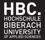 Professur (W2) Ingenieurgeologie - Hochschule Biberach (HBC) - Logo