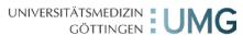 Professur (W3) für Hämatologie und Medizinische Onkologie - Universitätsmedizin Göttingen (UMG) - Logo