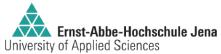 Professur (W2) Abwasserreinigung und Wasseraufbereitung - Ernst-Abbe-Hochschule Jena - Logo