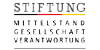 Wissenschaftlicher Mitarbeitender (m/w/d) als Projektmanager im Bereich Netzwerkorganisation - Stiftung Mittelstand-Gesellschaft-Verantwortung - Logo