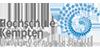Professur (W2) Data Science im Gesundheitswesen - Hochschule für angewandte Wissenschaften Kempten - Logo