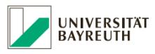 Professur (W2) für Evolution  und Diversität der Pflanzen - Universität Bayreuth - Logo