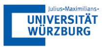 Universitätsprofessur (W2) für E-Learning - Julius-Maximilians-Universität Würzburg - Logo