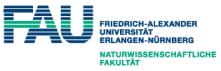 Professur (W2) für Geochemie von Lagerstätten - Friedrich-Alexander-Universität Erlangen-Nürnberg (FAU) - Logo