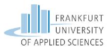 Professur (W2) Städtebau und Entwerfen im internationalen Kontext - Frankfurt University of Applied Sciences - Logo