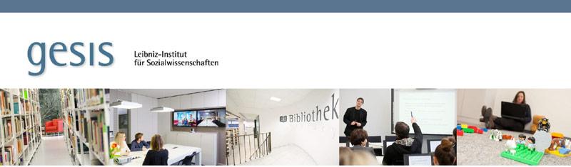 Wissenschaftlicher Mitarbeiter - Leibniz-Institut für Sozialwissenschaften e.V. GESIS - Logo