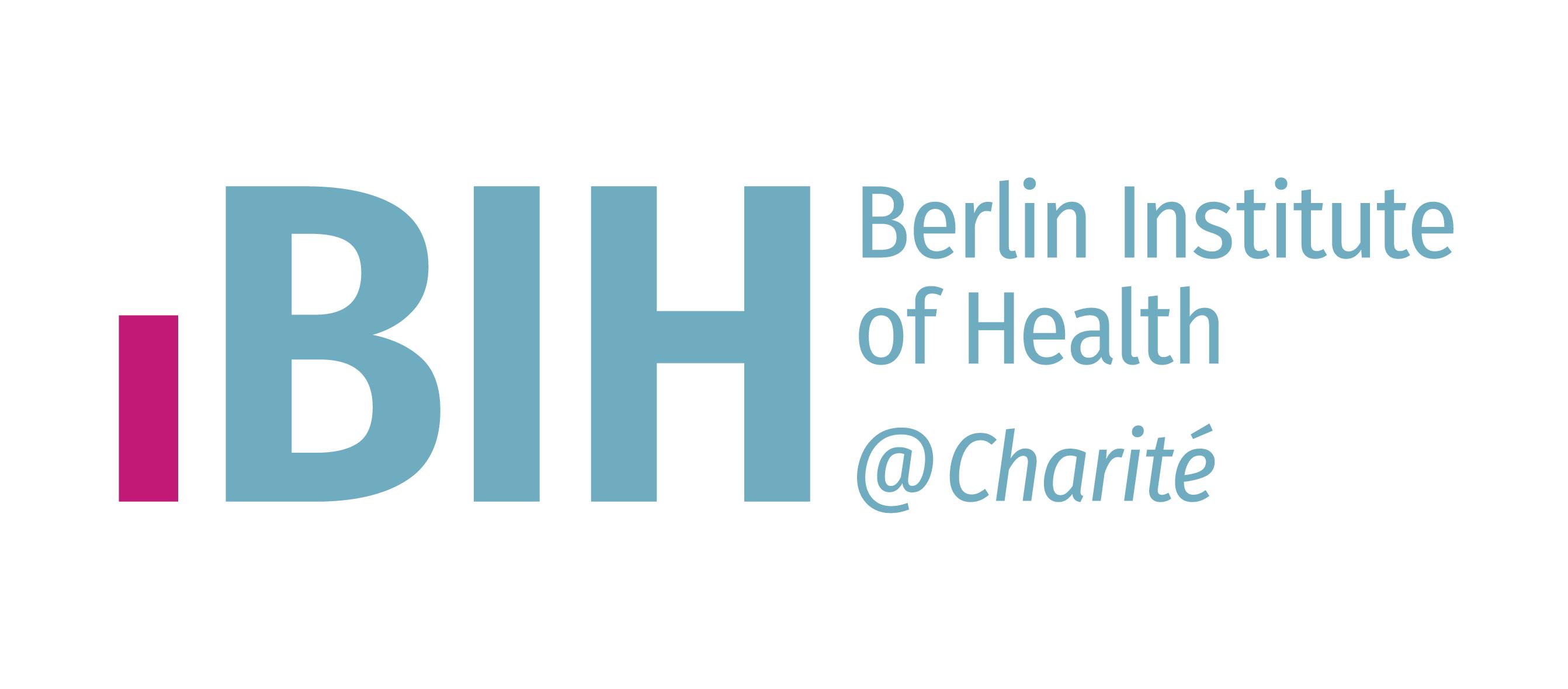 Berliner Institut für Gesundheitsforschung - Logo