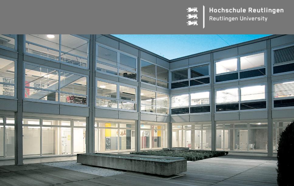 Hochschule Reutlingen - Logo